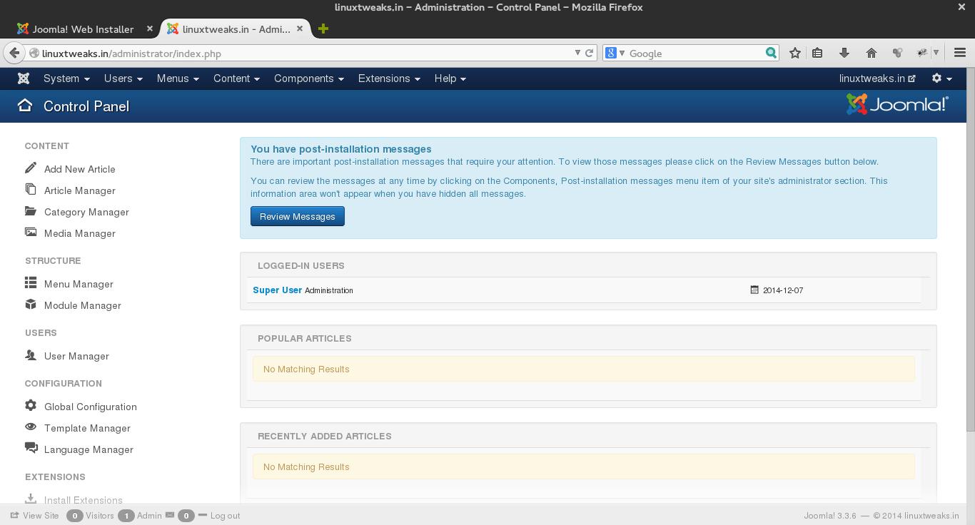 Joomla_9_control_panel