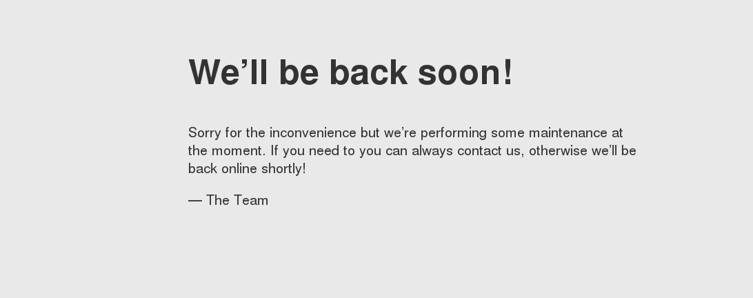 Redirect Page using .htaccess Down for Maintenance
