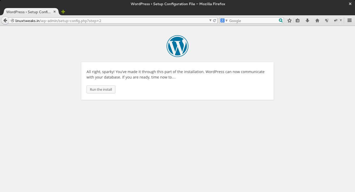 wordpress_run_the_install